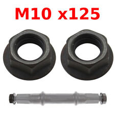PAIR OF CRANK ARM NUT M10x125 BIKE AXLE COTTERLESS BOTTOM SQUARE BRACKET VINTAGE