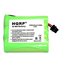 HQRP Cordless Phone Battery for Panasonic N4HKGMB00001 P-P501PA P-P504 P-P505