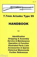 Japanese Rifle 7.7mm Arisaka Type 99 Assembly, Disassem