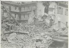 FOTOGRAFIA ORIGINALE_ALESSANDRIA_BOMBARDAMENTO 1944_SULLE MACERIE_ STIPEL ?