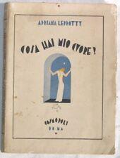 1929 LEPROTTY COSA HAI MIO CUORE FAVOLE BAMBINI AUTOGRA