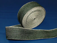 10 Meters Traditional Black & White Extra Strength Webbing - Upholstery Supplies