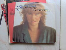 "7"" AGNETHA FALTSKOG  ABBA THE HEAT IS ON MAN N/MINT ITALY 1985"