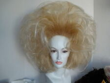 **WIG WIGS DRAG STRIKING BLONDE UP-DO POPULAR BIG HAIR