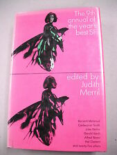 """1964 1ST ED """"THE 9TH ANNUAL OF THE YEAR`S BEST SCIENCE FICTION"""" BY JUDITH MERRIL"""