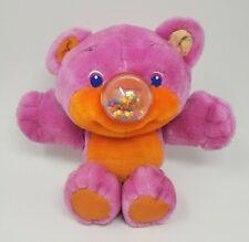 VINTAGE 1987 PLAYSKOOL NOSY BEAR GUMLET GUMBALL PINK STUFFED ANIMAL PLUSH TOY