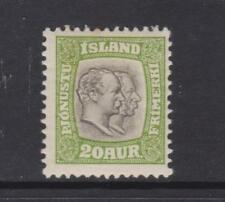 Iceland - SG 0105 - m/m - 1907 - 20a - Official