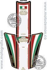 Td019wr, Motografix-Revêtement de réservoir, tankprotektor pour Ducati, Italia, Diavel