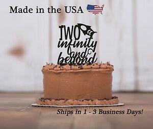 Second Birthday, Two Infinity, Birthday Decor,Second Birthday Cake Topper,LT1414