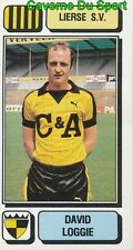 183 DAVID LOGGIE ENGLAND LIERSE.SV STICKER FOOTBALL 1983 PANINI