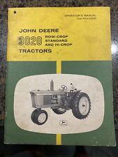 John Deere 3020 Row Crop Standard and Hi Crop Tractors Operator's Manual
