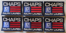 Parches Chaparreras Ralph Lauren Coleccionable Parches Juego de 6 Nuevo