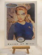 the women of Star Trek In Motion archive card Gold 3 Seven of Nine 441/500