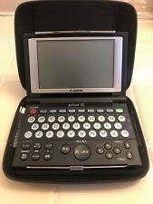 Canon WordTank G55 Japanese to English Electronic Dictionary