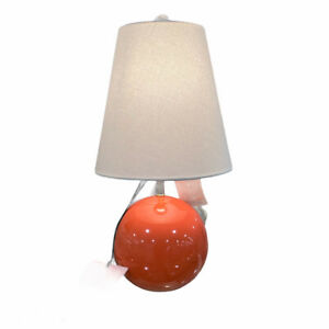 Kate Spade New York Coral Sphere Round Ball Table Lamp with Shade