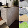3D Tile Brick Stone Wall Sticker Self-adhesive Waterproof Foam PE