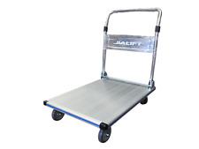 250kg Aluminum Platform Trolley Lightweight 15kg, Free Postage