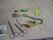 New listing Plano Magnum 2-Sided Tackle Box w Bass Lures