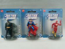 """Batman Superman & The Flash DC Justice League Mini 3"""" Mattel Action Figure New"""