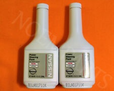 2 Pack Genuine OEM NISSAN INFINITI Full Sythentic POWER STEERING FLUID OIL