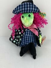 "Ty Original Beanie Babies 2000 Halloween Scary The Witch Plush Toy 10"" Mint Tag"