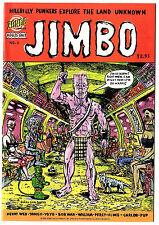 Jimbo by Gary Panter #1-3 (Zongo Comics 1995) Bongo After Dark... VF-NM
