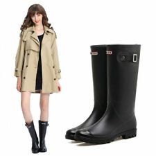 Fashion Women's Rain Boots Rubber Waterproof Anti-slip Water Shoes Safety HOT