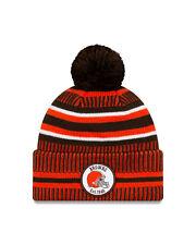 New Era NFL Cleveland Browns Home 2019/2020 Sport Knit Sideline Beanie Hat