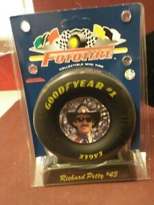 NIP NASCAR FOTOTIRE COLLECITBLE MINI TIRE GOOD YEAR #1 RICHARD PETTY #43