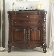 """36"""" Solid Wood Classic style Madison Bathroom Sink Vanity Cabinet # S01Gt36"""