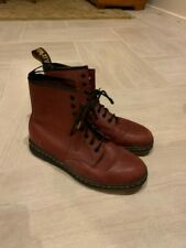 Dr. Martens 1460 Women's Smooth Leather 8 Eyelet Boots Size 9 - Cranberry