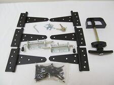 New Heavy Duty Shed Gate double door hardware kit: Kit 5