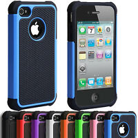 Hard Shockproof Case Dual Layer Cover for Apple iPhone 4s 5s 5c 6s 6s Plus