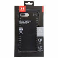 Under Armour UA Protect Grip Case for iPhone 8 Plus 7 Plus 6 Plus - Black / Gray