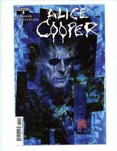 Alice Cooper #3, VF+ 2014 Dynamite Comics Rock Music