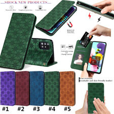 Magnetic PU Leather Flip Wallet Case Cover For Samsung A71 A10 A20 A30 A50 A21