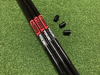 3 X New KBS Tour Custom Wedge Shafts Stiff. Black Pearl with Red Label