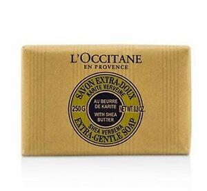 L'Occitane Shea Verbena Extra-Gentle Soap 250g Cleanse Natural Nourish *FreePost