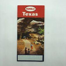 Texas TX - Humble Road Map