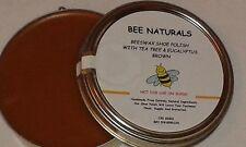 Handmade 100% Natural BEESWAX And CARUAUBA WAX SHOE POLISH (BROWN)