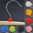 100 Pc Plastic Snap Retail Clothes Hanger Size Markers Garment Tags Labels Blank