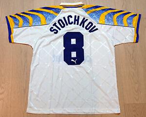 1995-97 Parma Home Shirt S/S Hristo Stoichkov #8 size XL Mega Rare