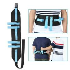 Patient Gait Belt Transfer & Walking Moving Tools with Hand Grips Quick-Release