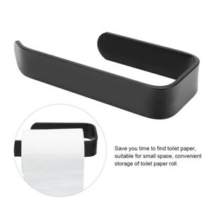 Elegant Wall-mounted Tissue Holder From Alumimum No Drill Roller Paper Shelf For