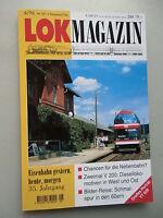 LOK Magazin Eisenbahn gestern heute morgen 6/96 Nr. 201 Nov. / Dez.