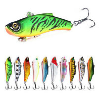 "Bass Fishing Lure 2.7""/18g  Swimbaits with Treble Hook Swim Baits Lures for Bass"