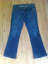 Ladies BILLABONG Blue Denim Jeans Size 11 Boot Leg
