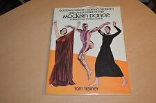 Stars of Modern Dance Tom Tierney Paper Dolls Book New Uncut