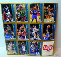 Dallas Mavericks FLEER Basketball Cards Lays 92 93 Season Uncut Vintage