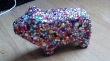Guinea pig GEM ENCRUSTED small Ornament Figurine Statue Figure Gift 14x4.5x9 cm
